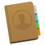 Beim Mac im Adressbuch Standard Mailadressen festlegen