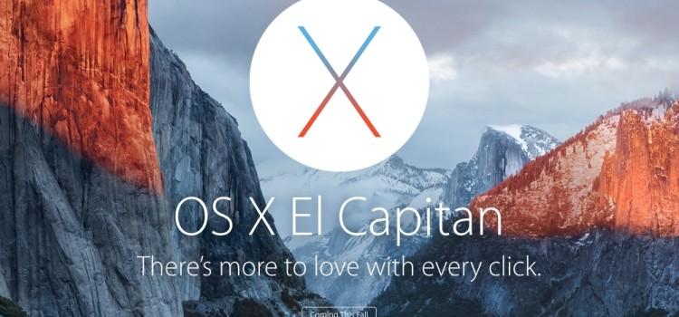 Tipp: OSX 10.11 El CAPITAN PUBLIC BETA TESTEN & Test beenden