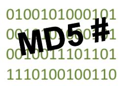 Prüfen von Dateipaketen mit Hilfe von md5